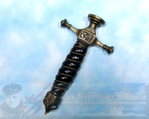 DAGGER - NAVY - OFFICER REICHSMARINE - WITH INITIAL STAMP