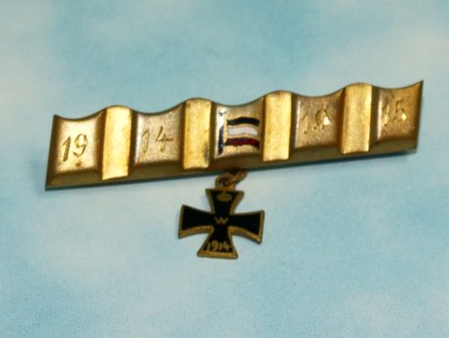 PATRIOTIC DRIVING BAND PIN - Imperial German Military Antiques Sale