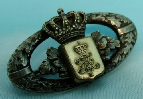 REGIMENTAL PATRIOTIC PIN - LEIB-GRENADIER-REGIMENT Nr 8 - PRUSSIA - Imperial German Military Antiques Sale