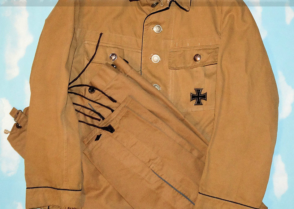 GERMANY SOUTHWEST AFRICA – TUNIC AND TROUSERS – NCO – PRIVATELY-PURCHASED UNIFORM