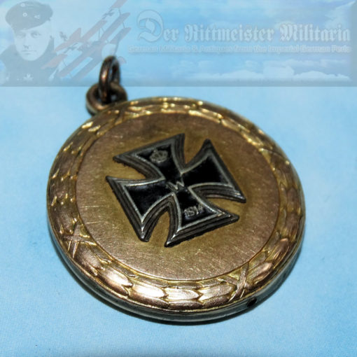 PATRIOTIC 1914 IRON CROSS PENDANT