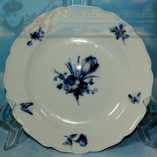 PRUSSIA - DINNER PLATE - PERSONAL TABLE SERVICE - KAISER WILHELM II - Imperial German Military Antiques Sale