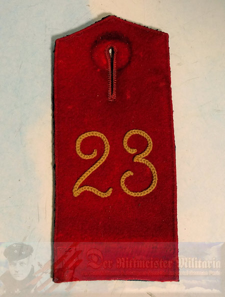 PRUSSIA - SHOULDER STRAP - ENLISTED MAN/NCO - PIONIER-BATTALION NR 23