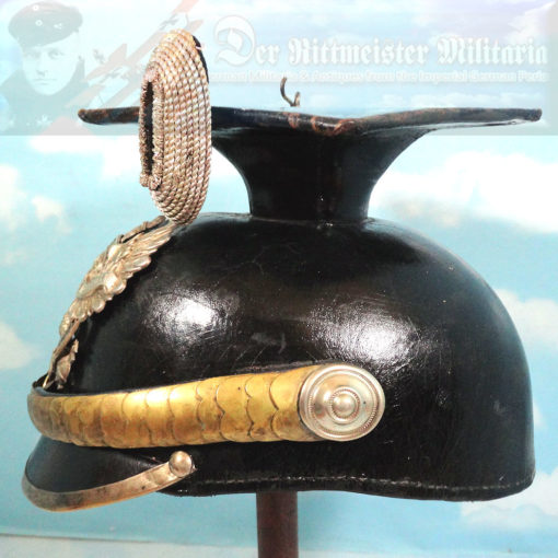 PRUSSIA - TSCHAPKA - OFFICER - ULANEN-REGIMENT NR 14 - Imperial German Military Antiques Sale