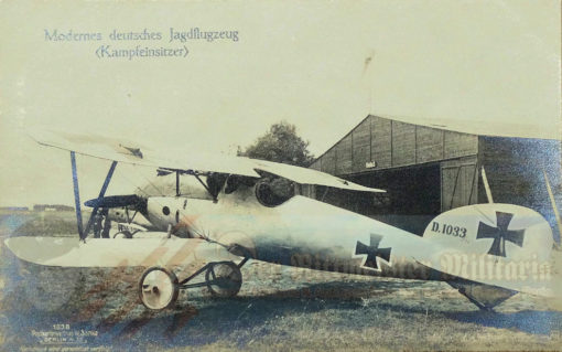 PRUSSIA - SANKE CARD - ALBATROS D. III OR D. V. - AVIATION - NR 1038