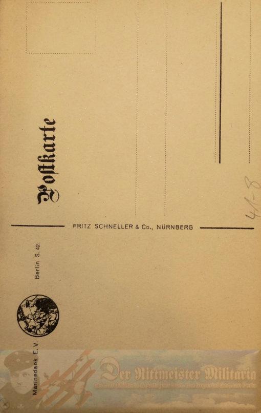 PRUSSIA - POSTCARD - ADMIRAL LUDWIG VON SCHRÖDER - NAVY - FLANDERS MARINEKORPS