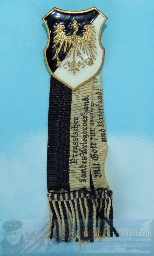 PRUSSIA - BADGE - VETERANS ASSOCIATION