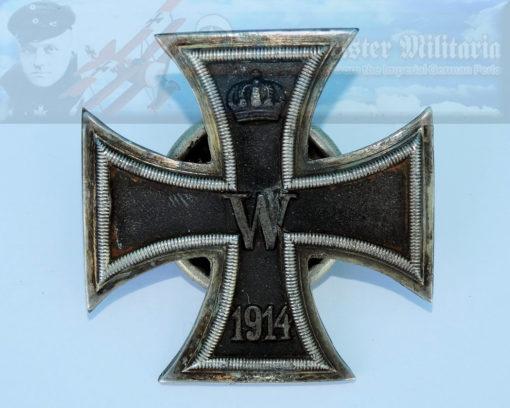 GERMANY - IRON CROSS - 1914 - 1ST CLASS - TWO-PIECE SCREWBACK