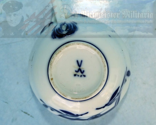 GERMANY - DEMITASSE (COFFEE CUP) AND SAUCER - KRIEGSFLAGGE