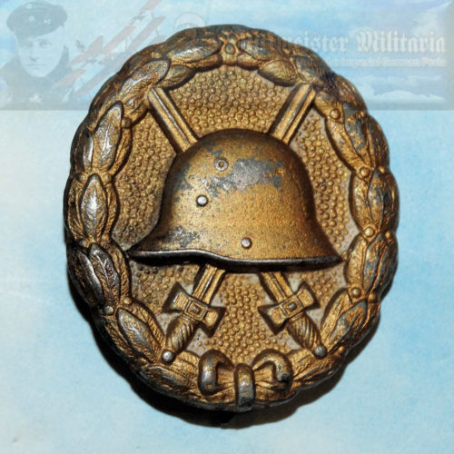 GERMANY - ARMY WOUND BADGE - GOLD