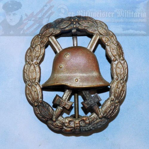 GERMANY - ARMY WOUND BADGE - SILVER - PRIVATE PURCHASE