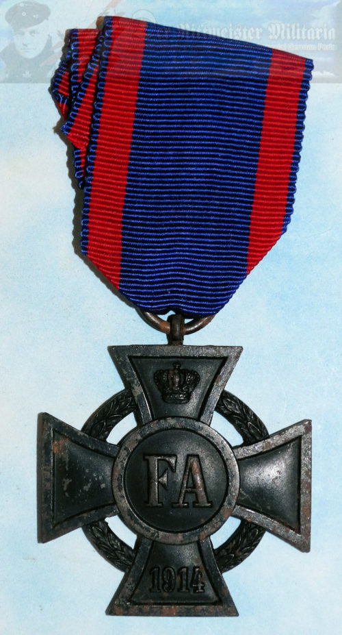 OLDENBURG - FRIEDRICH AUGUST CROSS - 2ND CLASS - 1914 - Imperial German Military Antiques Sale