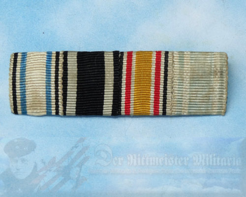 BAVARIA / BADEN - RIBBON BAR - FOUR PLACE - Imperial German Military Antiques Sale