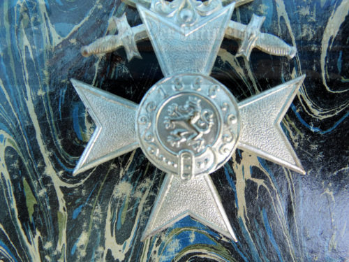 BAVARIA - MILITARY SERVICE MEDAL - 3rd CLASS - WITH CROWN AND SWORDS - Imperial German Military Antiques Sale