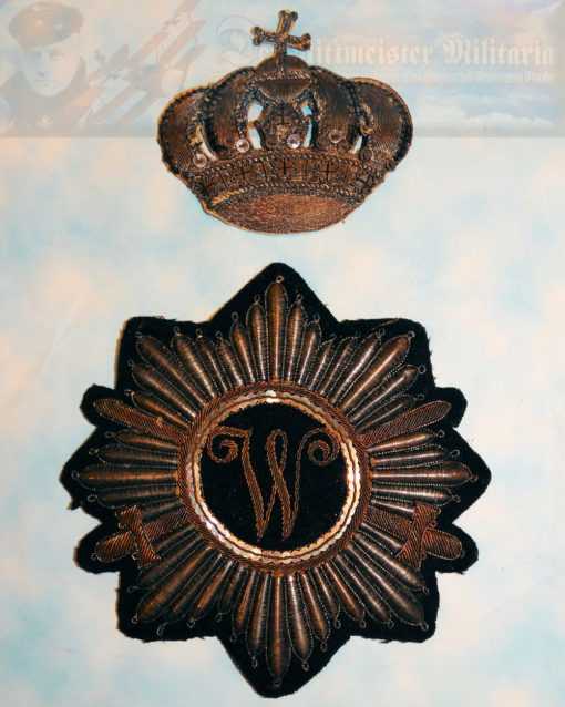 BRAUNSCHWEIG - SADDLE BLANKET EMBLEM - OFFICER