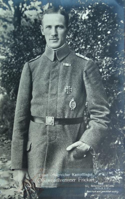 IMPERIAL GERMANY - SANKE CARD - LEUTNANT WILHELM FRICKART - NR 562 - Imperial German Military Antiques Sale