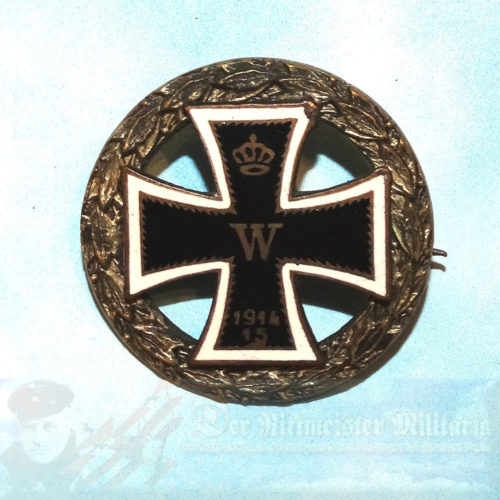 GERMANY - PATRIOTIC PIN - IRON CROSS