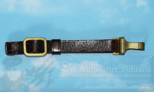 GERMANY - SWORD HANGER - LEATHER DOWN STRAP