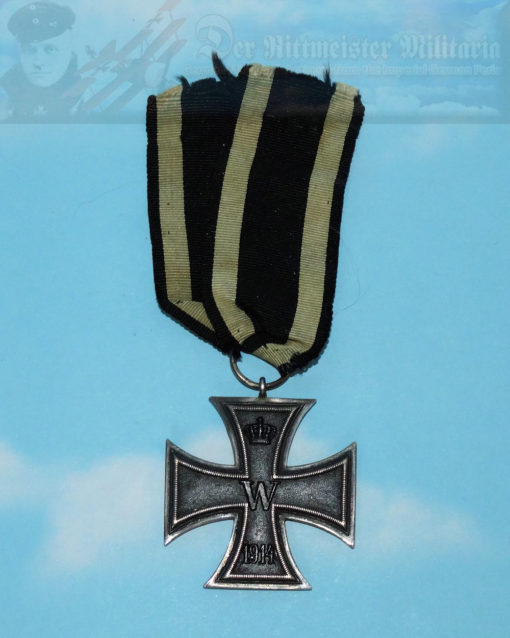 BAVARIA - AWARD DOCUMENT AND 1914 IRON CROSS  - 2nd CLASS