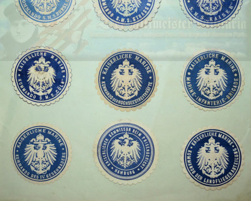 GERMANY - DOCUMENT STAMPS - ADMINISTRATIVE AND SHIPS DOCUMENT - FIFTEEN