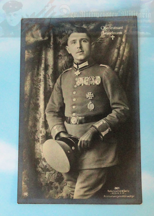 GERMANY - SANKE CARD - OBERLEUTNANT MAX IMMELMANN - NR 361