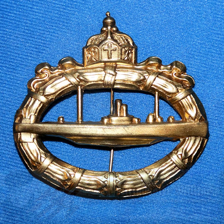 GERMANY - BADGE - WW I U-BOOT
