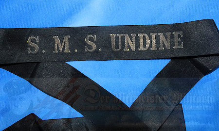 GERMANY – CAP TALLY – ENLISTED MAN – S.M.S. UNDINE