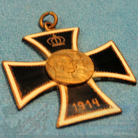 GERMANY - PATRIOTIC PENDANT - EARLY WAR -  IRON CROSS MOTIF
