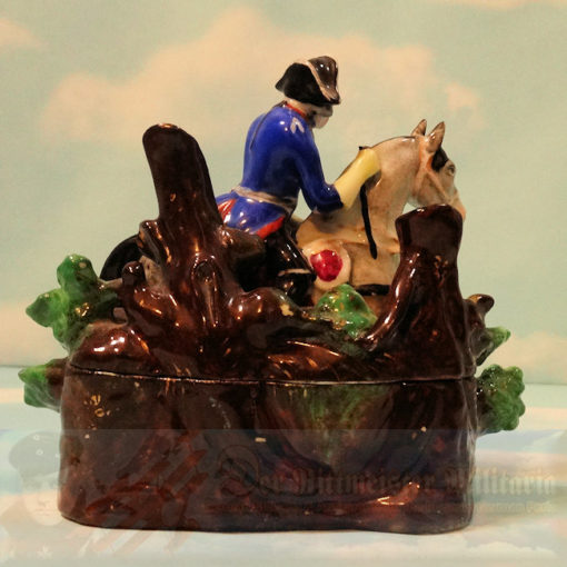 PRUSSIA - SALT AND PEPPER DECORATIVE CONTAINER - FEATURING FREDERICK THE GREAT