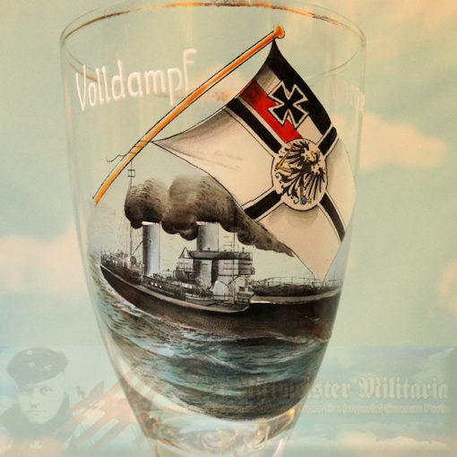 IMPERIAL GERMANY - GOBLET - KAISERLICHE MARINE / IMPERIAL GERMAN NAVY