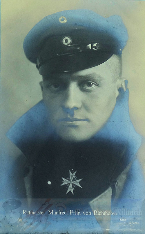 GERMANY - SANKE CARD - MANFRED VON RICHTHOFEN - NR 503