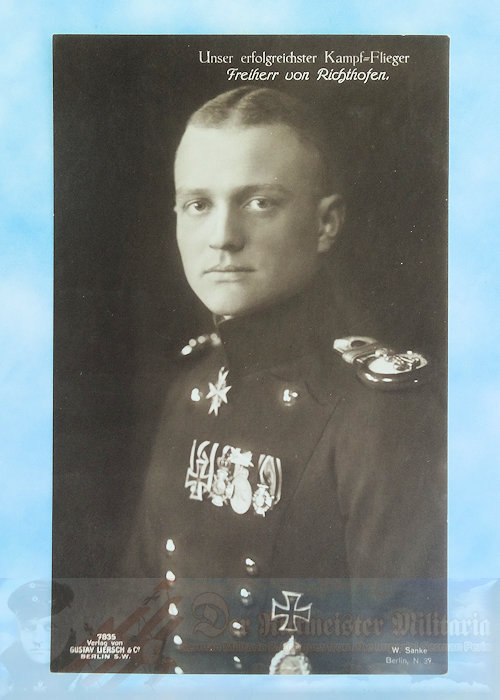 GERMANY - SANKE CARD - MANFRED VON RICHTHOFEN - NR 7835