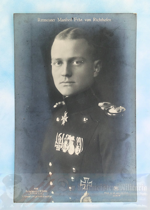 GERMANY - SANKE CARD - MANFRED VON RICHTHOFEN - NR 450
