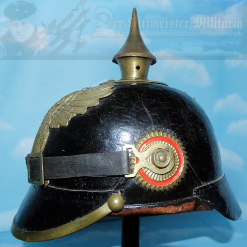 BADEN - PICKELHAUBE / SPIKED HELMET - ENLISTED MAN INFANTRY - PRE WW I