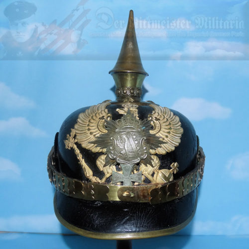 ANHALT - PICKELHAUBE / SPIKED HELMET - RESERVE OFFICER - INFANTRY-REGIMENT NR 93