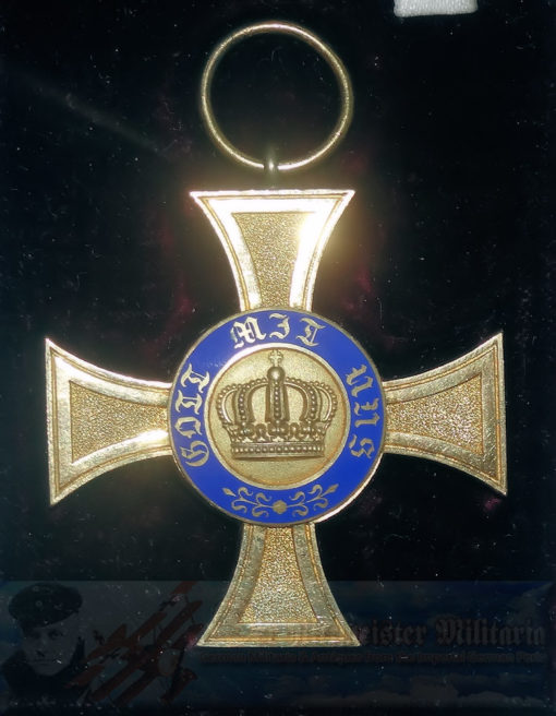 PRUSSIA - CROWN ORDER - 4TH CLASS - IN THE ORIGINAL PRESENTATION CASE