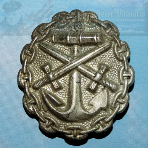 GERMANY - WOUND BADGE - NAVY - SILVER