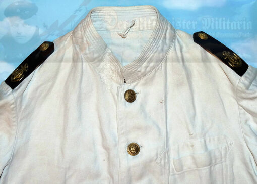 GERMNAY - TUNIC - SENIOR NAVY NCO - OBERSTABSBOOTSMANN - NAVY - WHITE