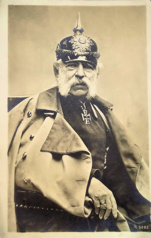 SAXONY -  POSTCARD - KING ALBERT