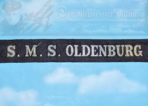 GERMANY - CAP TALLY - ENLISTED MAN - S.M.S. OLDENBURG